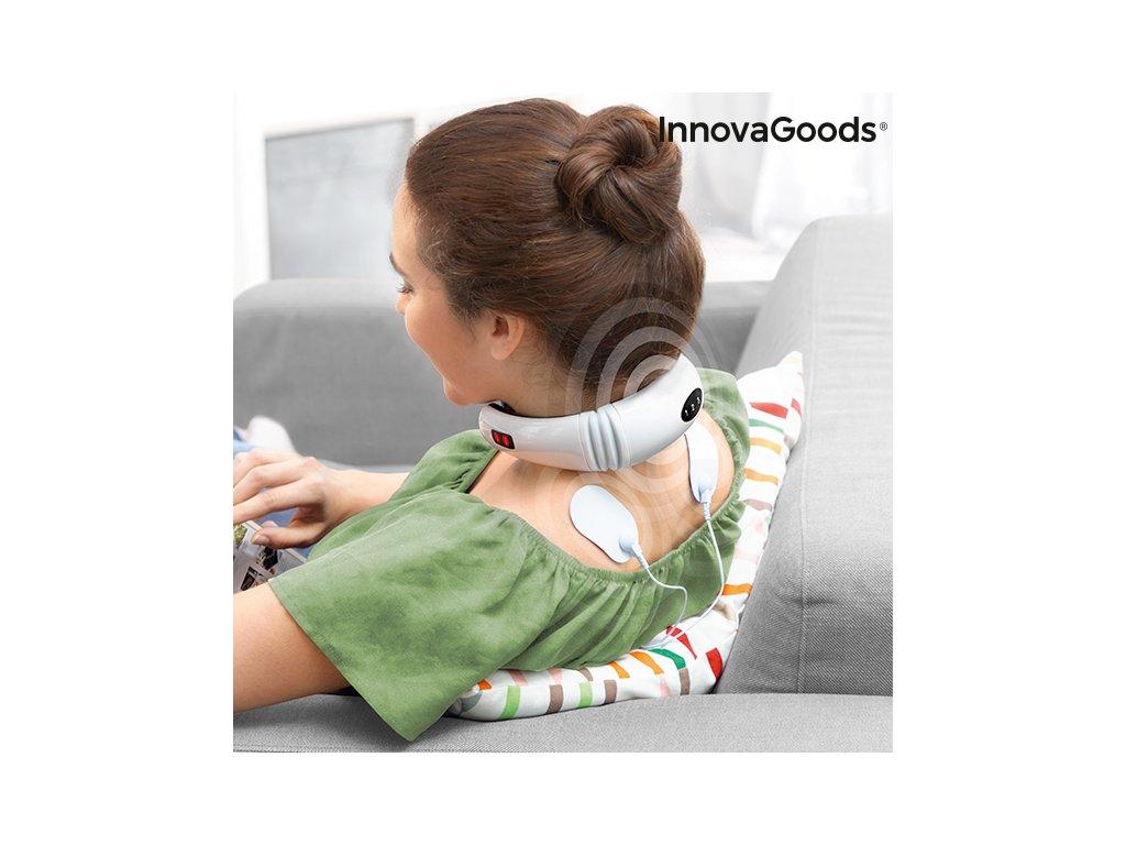 Elektromagnetický Masážní Přístroj na Krk a Záda InnovaGoods