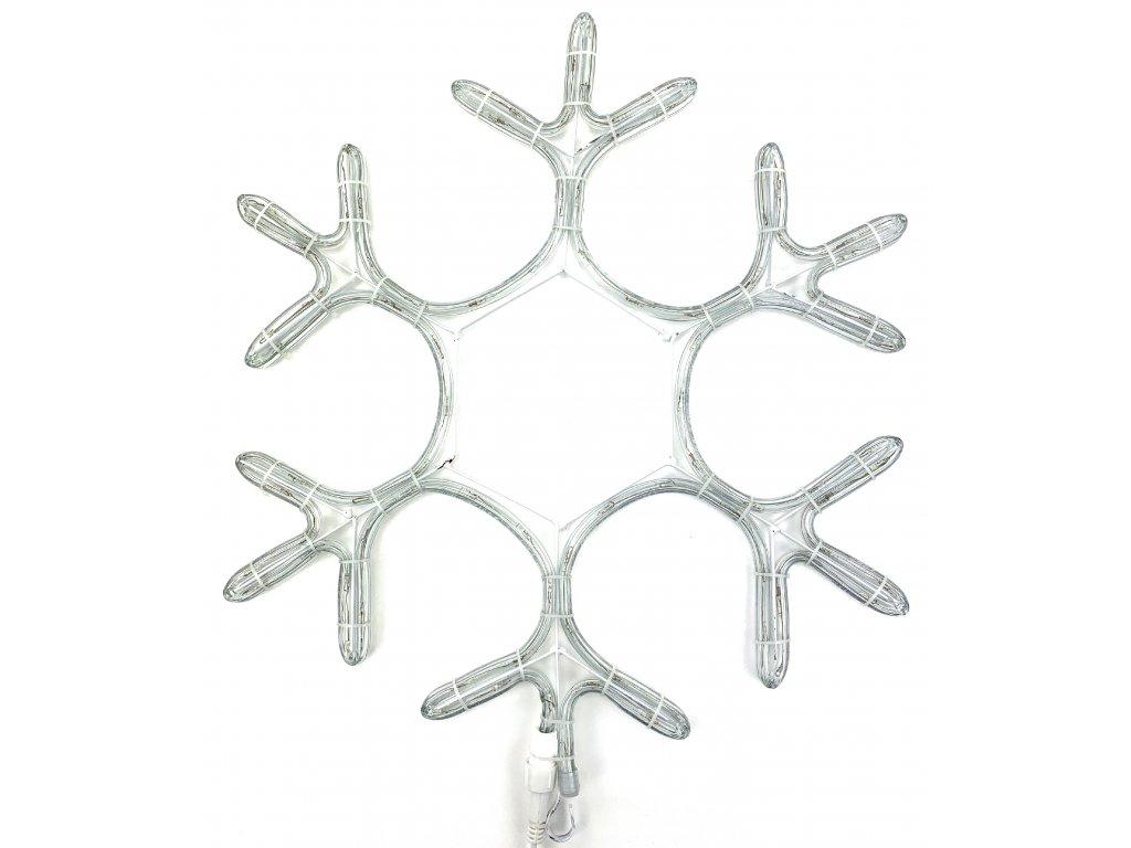 Vánoční LED dekorace - Vločka 39 cm (BLIKAJÍCÍ)