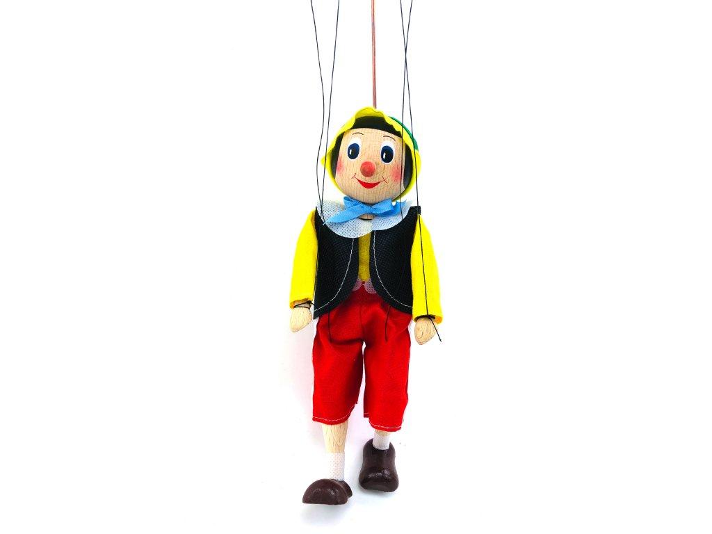Dřevěná loutka - Pinocchio (22 cm)