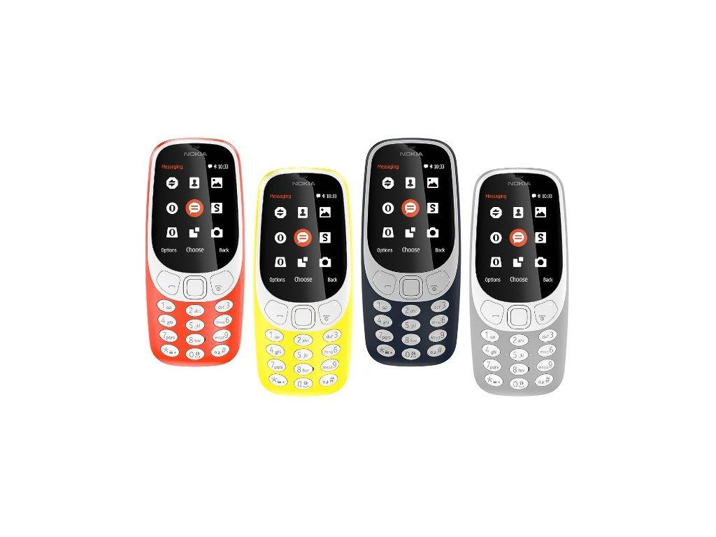 Mobilní telefon 3310 DUAL SIM - různé barvy (2017)