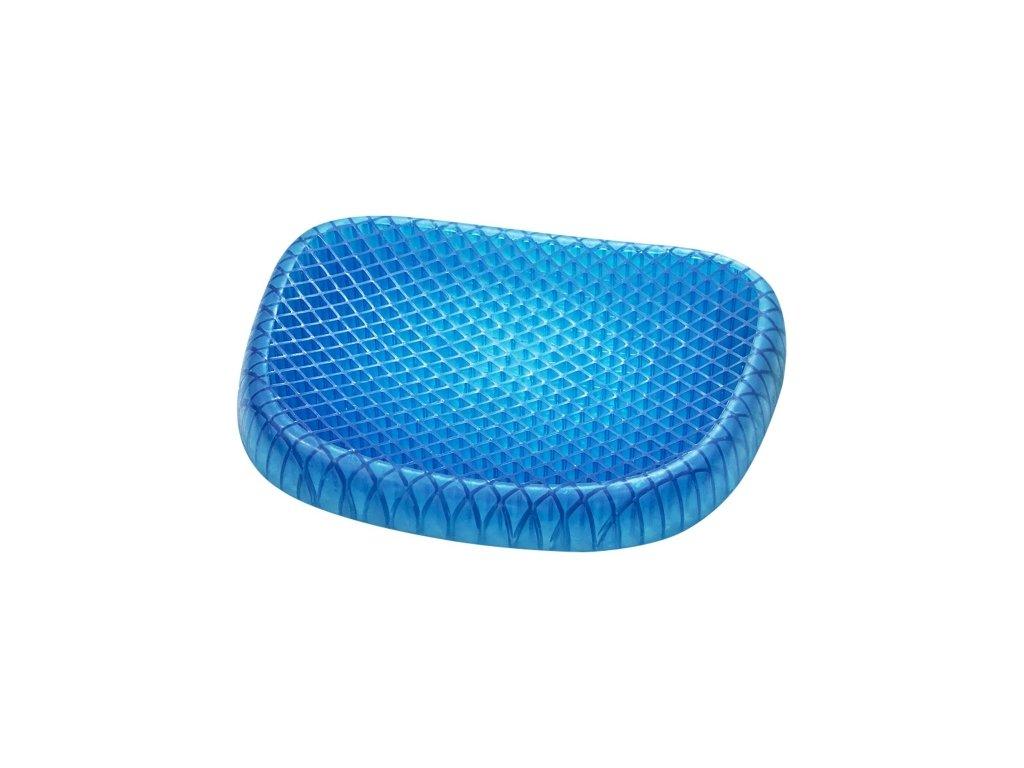 Gelová podložka na sezení - Modrá