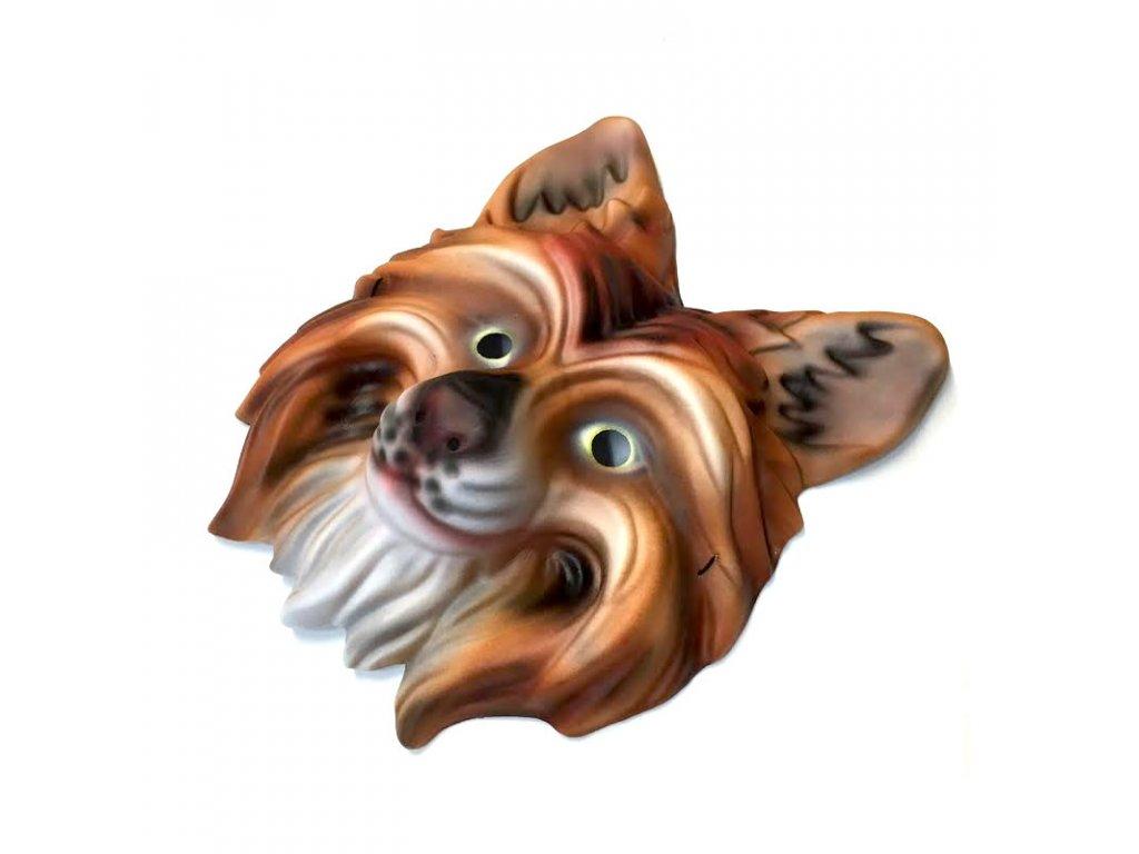 35104 karnevalova maska liska