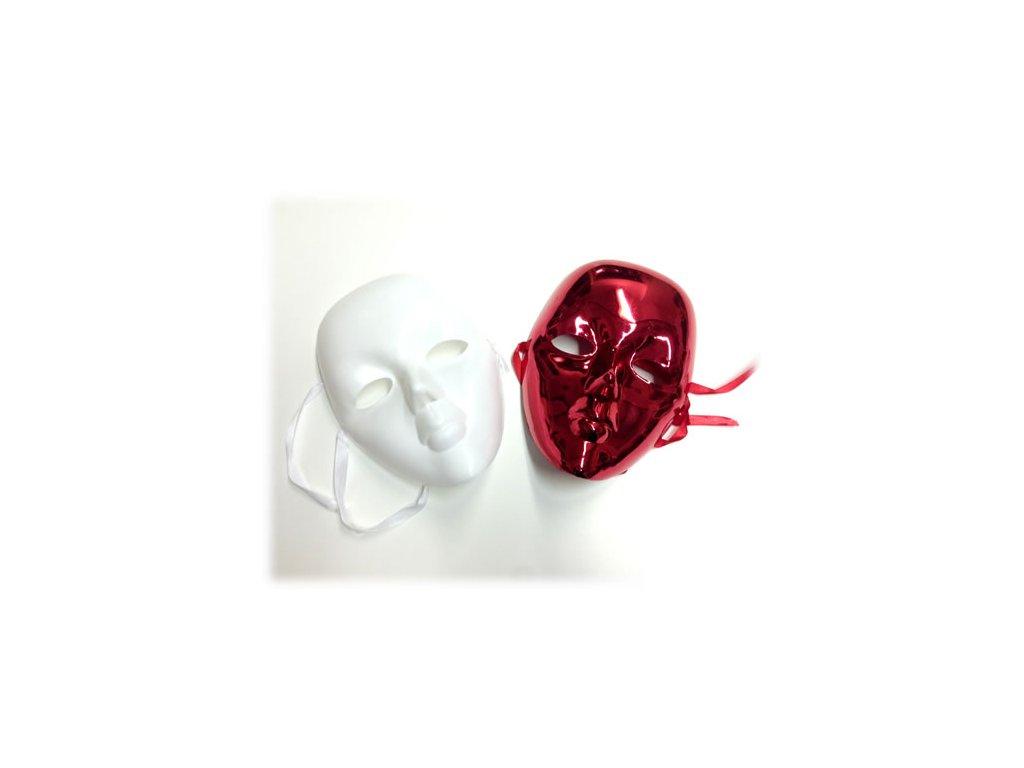 Tajemná Maska (Barva Bílá)