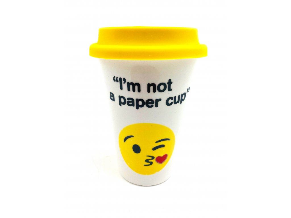Keramický hrnek I´m not a paper cup - 350 ml