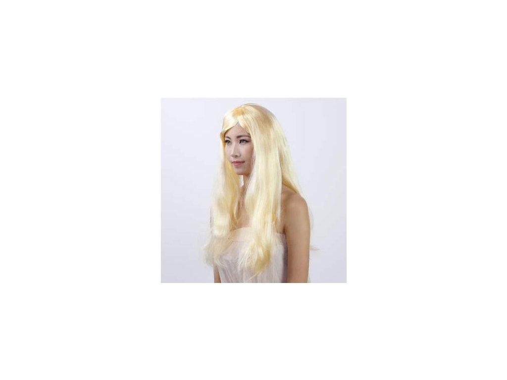 897 damska paruka dlouha blond