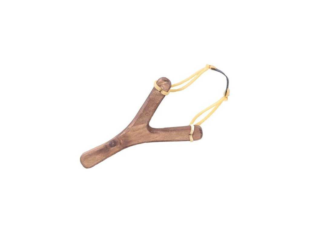 Dřevěný Prak - 21 cm