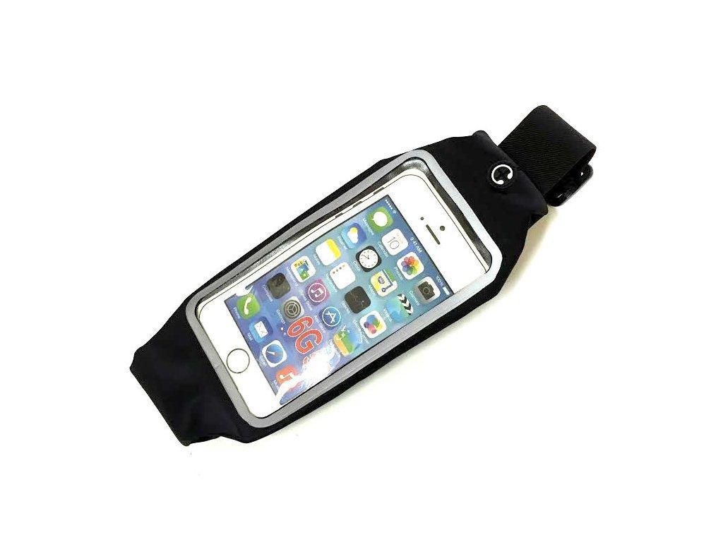 Sportovní Ledvinka Na Telefon - Černá