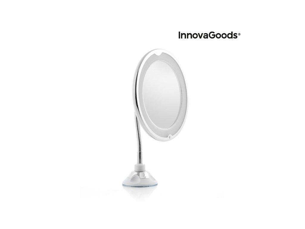 led zvetsujici zrcatko nastavitelnou rukojeti a prisavkou mizoom innovagoods 97936 (6)