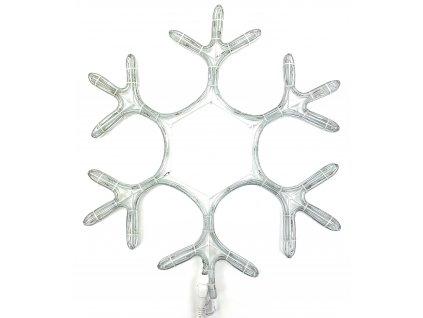 Vánoční LED dekorace - Vločka 50 cm (BLIKAJÍCÍ)