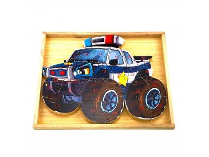 Vzdělávací puzzle - Policie