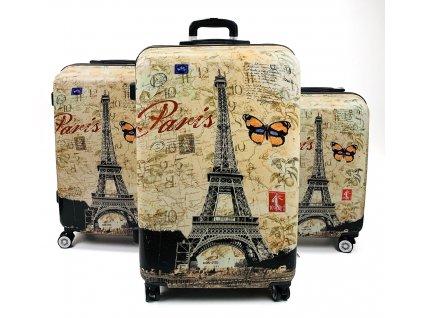 132566 cestovni skorepinovy kufr paris sada 3ks