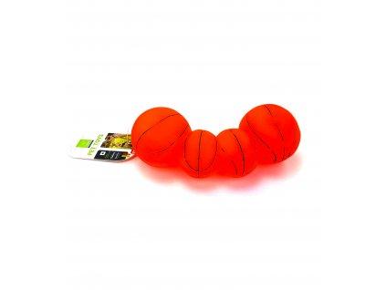 134036 piskaci micek pro psy basketbalovy 20 cm