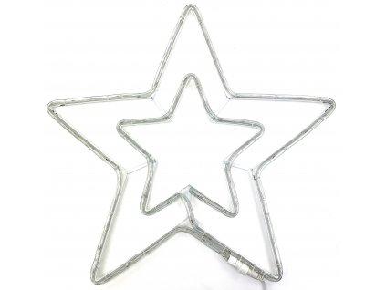 Vánoční LED dekorace - Hvězda 54 cm (SVÍTÍCÍ)