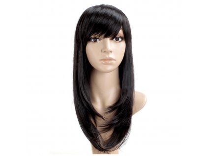 36445 paruka dlouhe cerne vlasy
