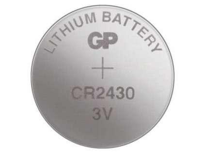 Knoflíková baterie - CR2430 (5 ks)