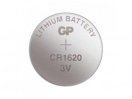 Knoflíková baterie - CR1620 (5 ks)