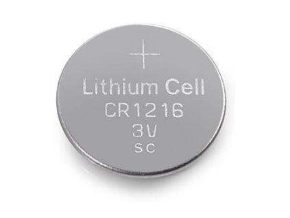 Knoflíková baterie - CR1216 (5 ks)
