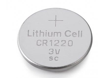 Knoflíková baterie - CR1220 (5 ks)