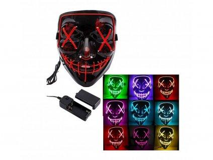 Maska Purge - Očista (svítící) černá