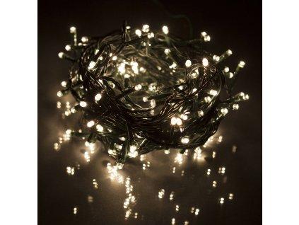 Vnitřní vánoční led osvětlení - Teplá bílá 50 až 300 led (Osvětlení Teplá bílá 30m - 300 led diod)