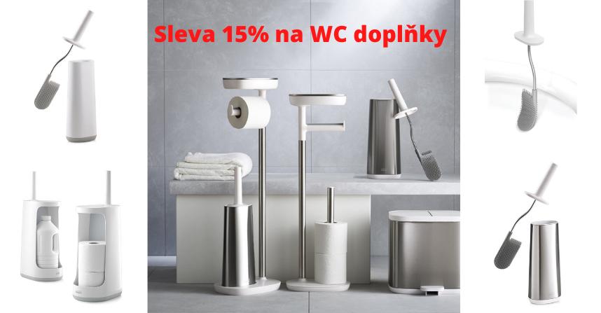 Sleva 15% na WC doplňky