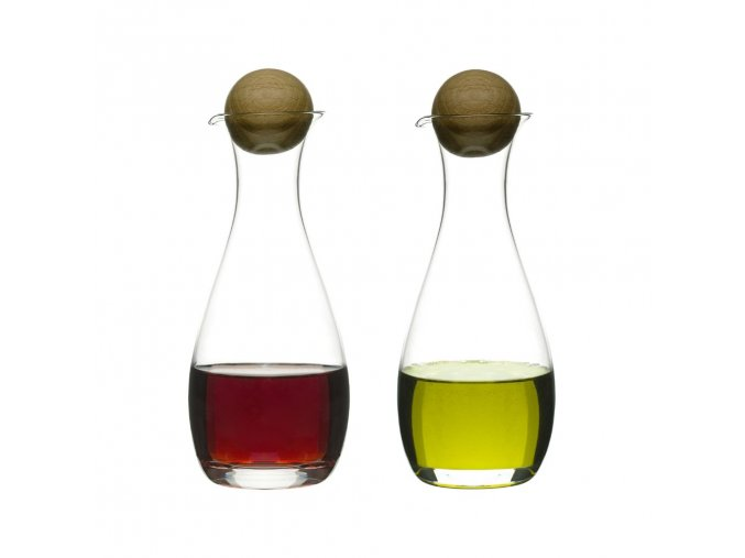 SAGAFORM Nádoby na olej a ocet Nature