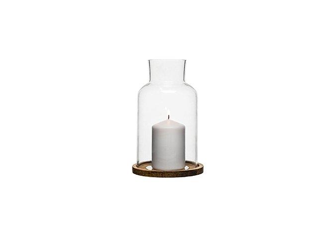 SAGAFORM Svícen Nature Candleholder, L