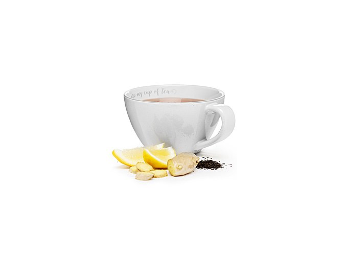 Šálek XXL SAGAFORM You are my cup of tea, 0,7 L, krémový
