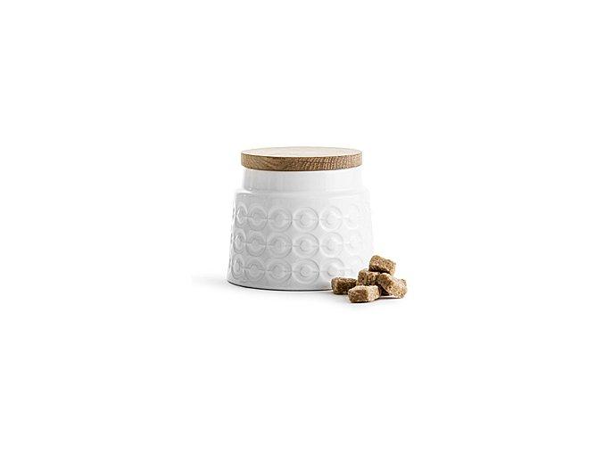 Porcelánová dóza SAGAFORM Nature, malá, 0,5 L