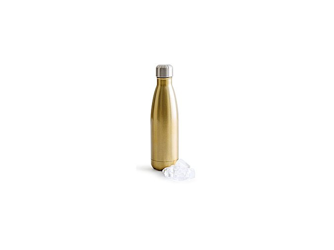 SAGAFORM Termoláhev Hot&Cold, 500 ml, zlatá