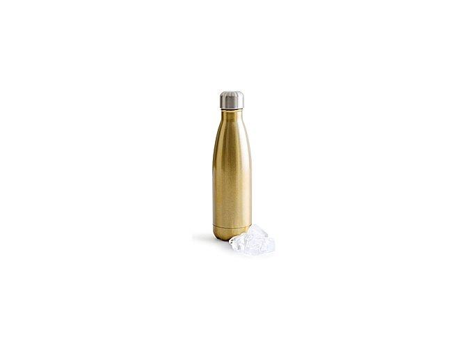 Termoláhev SAGAFORM Hot&Cold, 500 ml, zlatá