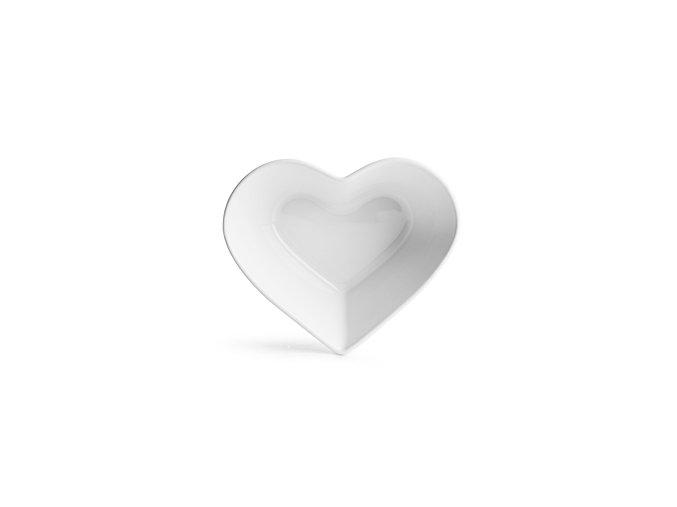 SAGAFORM Miska Heart, bílá
