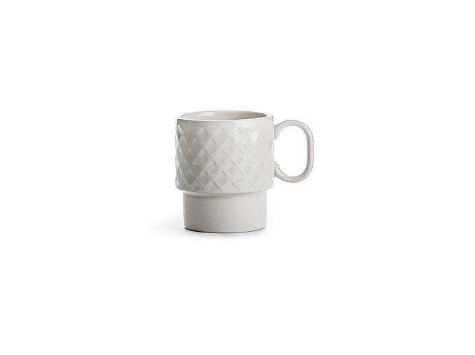 SAGAFORM Hrnek Coffee&More, 250 ml, bílý