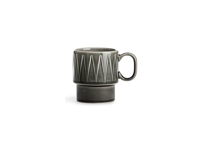 SAGAFORM Hrnek Coffee&More, 250 ml, šedý