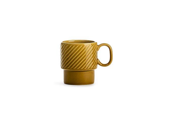 SAGAFORM Hrnek Coffee&More, 250 ml, žlutý