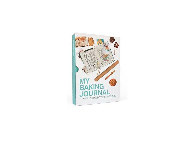 SUCK UK Kniha pečících receptů My Baking Journal