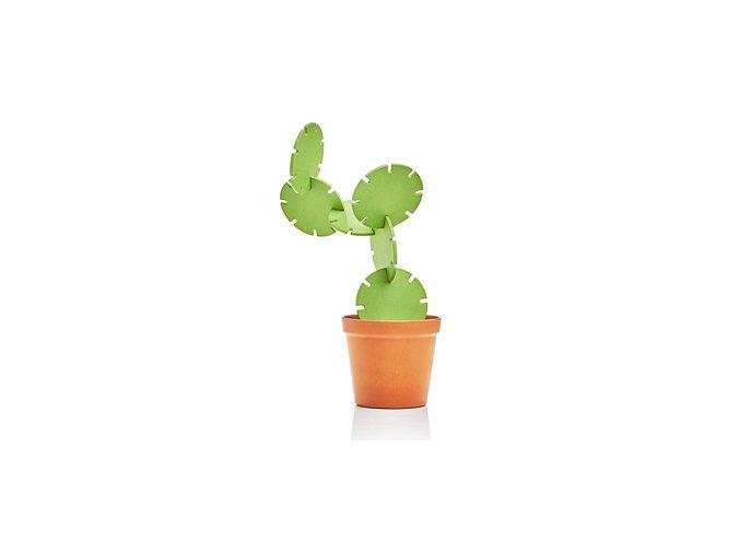 Stojánek s tácky SUCK UK Cactus Coasters