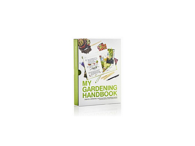SUCK UK Zahradníkův záznamník My Gardening Handbook, zelený