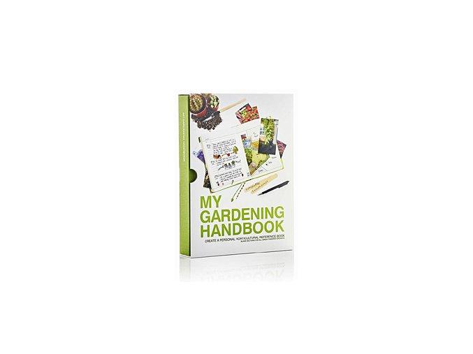 Zahradníkův záznamník SUCK UK My Gardening Handbook, zelený