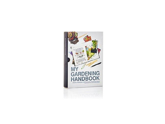 Zahradníkův záznamník SUCK UK My Gardening Handbook, černý