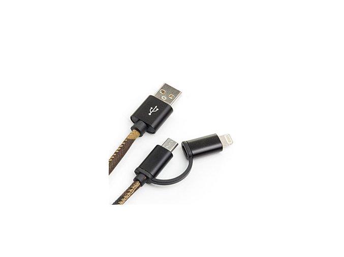 SUCK UK USB kabel USB Phone Cable Camo