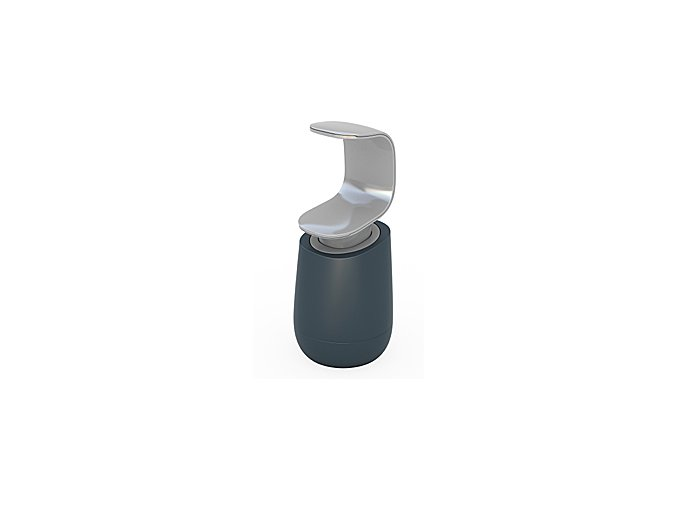 Dávkovač tekutého mýdla JOSEPH JOSEPH C-pump ™, šedý