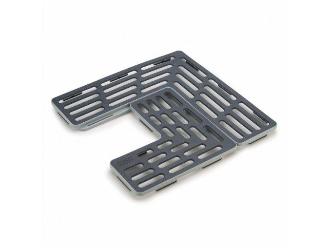 JOSEPH JOSEPH Podložky do dřezu Sink Saver™, šedé