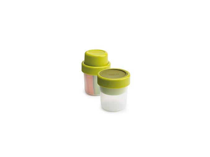 JOSEPH JOSEPH Snack Pot GoEat™, 100 / 240 ml, zelený