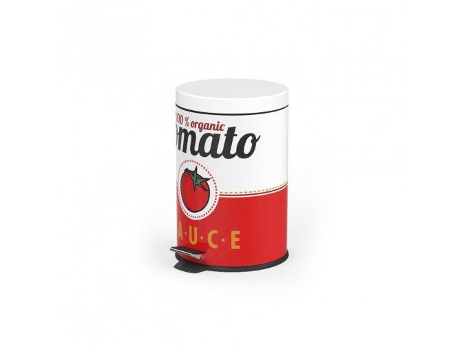 BALVI Odpadkový koš Tomato Sauce, 5 L