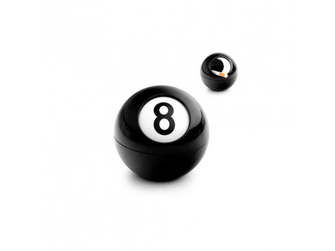 23033 3 23033 uzaviratelny popelnik balvi 8 ball 25176 cerny