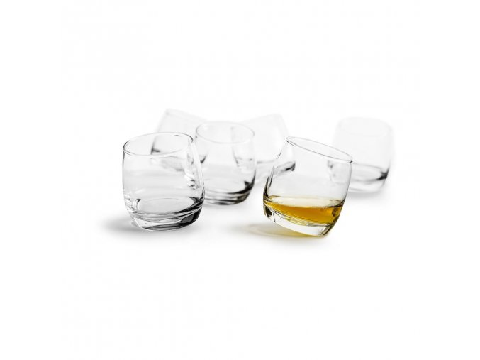 24341 24341 houpaci sklenice sagaform rocking whiskey 6ks