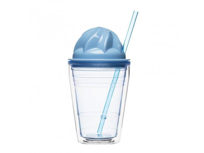 24491 hrnek s brckem sagaform sweet milkshake modry