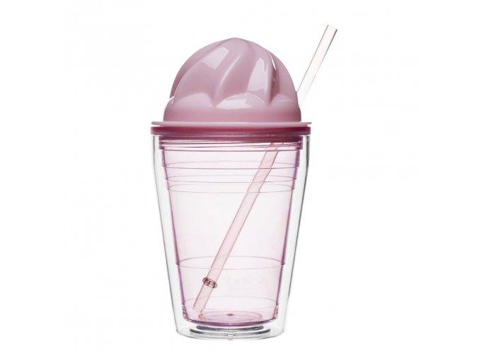 24494 hrnek s brckem sagaform sweet milkshake ruzovy