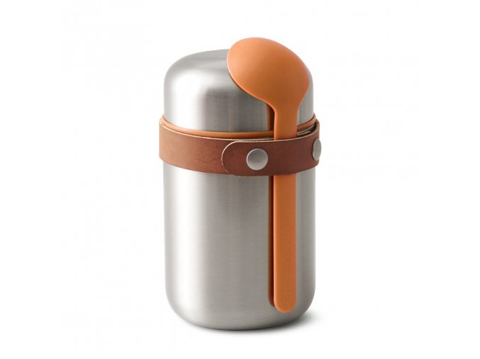 31877 termoska food flask 400ml nerez oranzova
